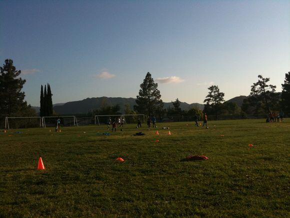Soccer and Sunshine